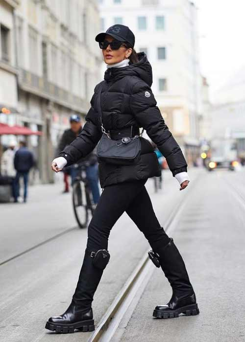 Leggings with what to wear in winter
