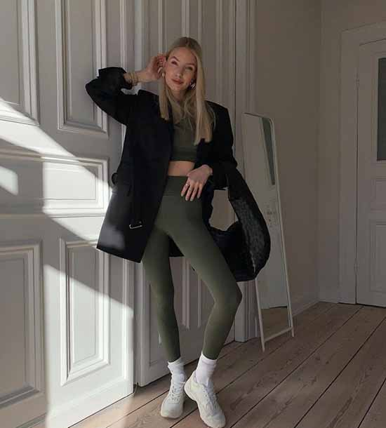 Leggings 2021-2022: what to wear, photo fashionable images