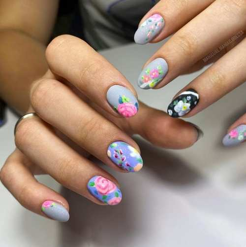Spring design of nails 2021: new items, photo of manicure