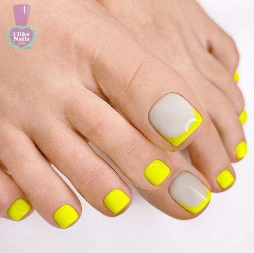 Bright jacket on nails