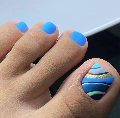 Pedicure design 2021: spring-summer novelties, photos, trends