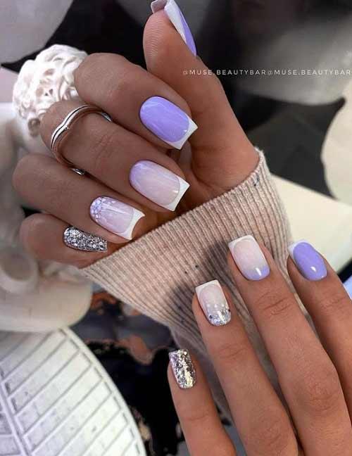 Lilac-white jacket