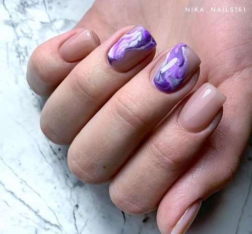 Lilac patterned