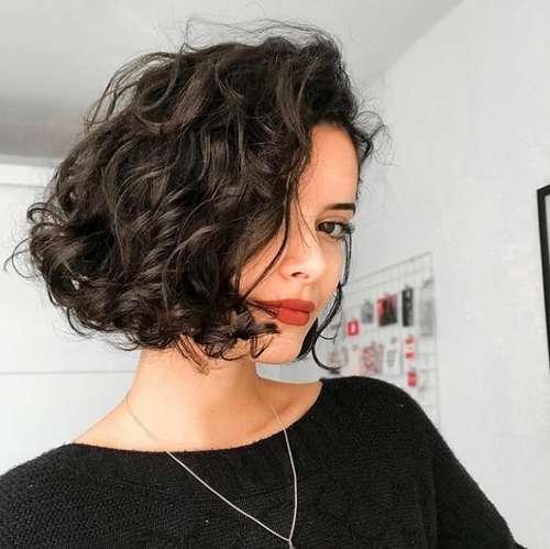 Short fashion haircut