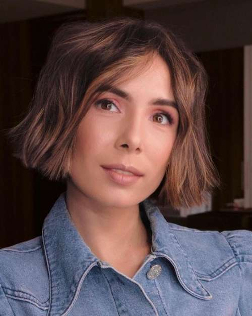 Short haircuts for women without bangs 2021: photos, fashion news