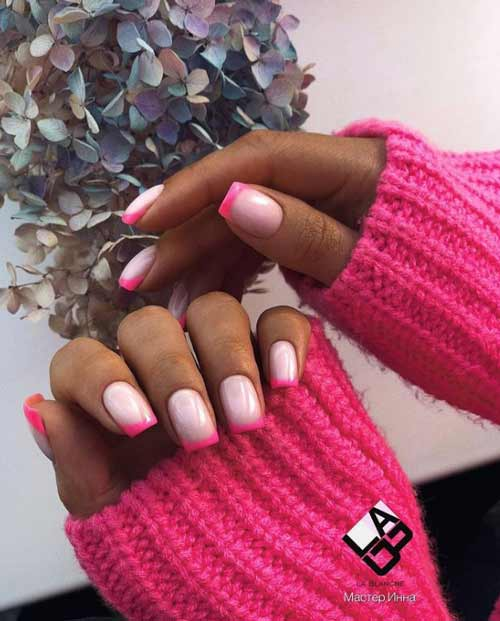 Milk pink jacket