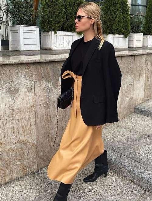 Stylish looks with a midi skirt