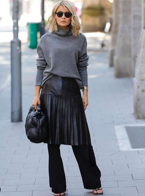 Midi skirt 2021: what to wear, fashionable models in the photo