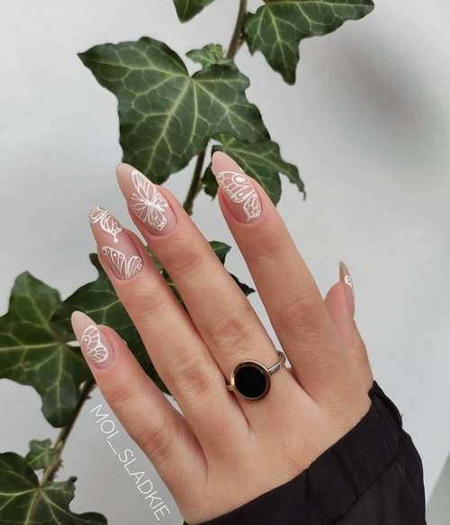 Butterfly manicure 2021: new design photos