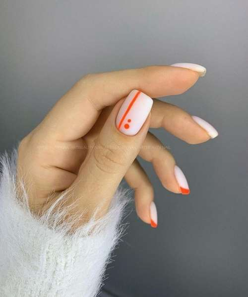French manicure color