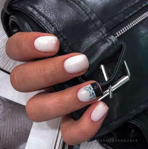 French on one nail