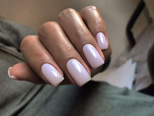 Solid gentle manicure