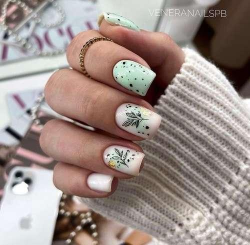 Delicate manicure photo