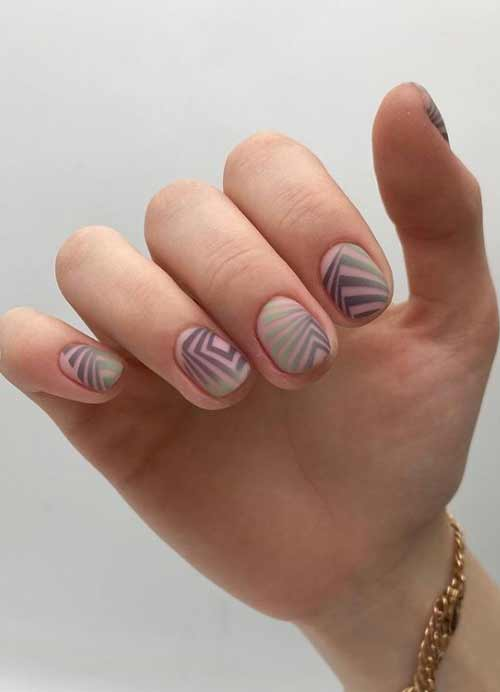 Gradient and stamping on nails