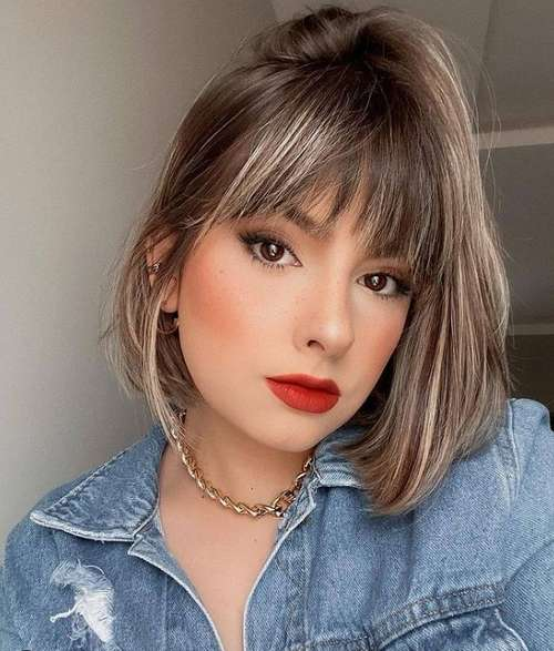 Actual bangs 2021: photos, trends, fashion trends