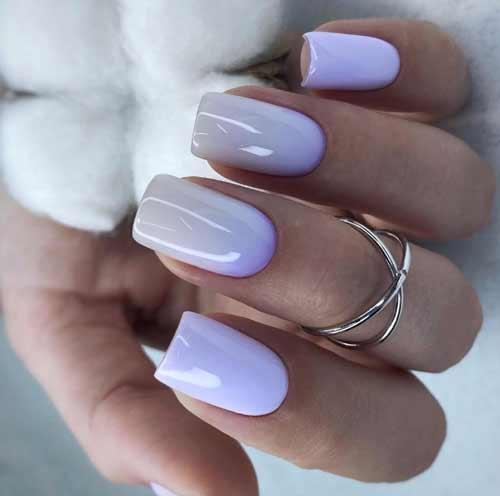 Lilac-milky gradient