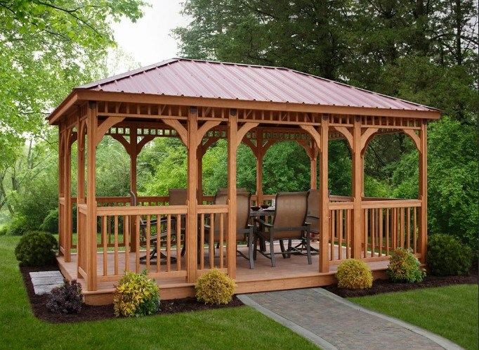 Which gazebo to choose: useful tips and tricks