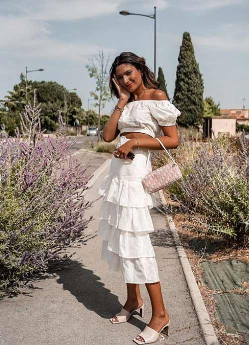 Midi skirt fashion 2021