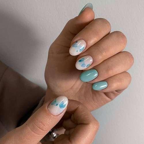 Design oval nails