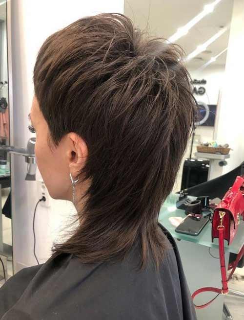 Mallet haircut for girls
