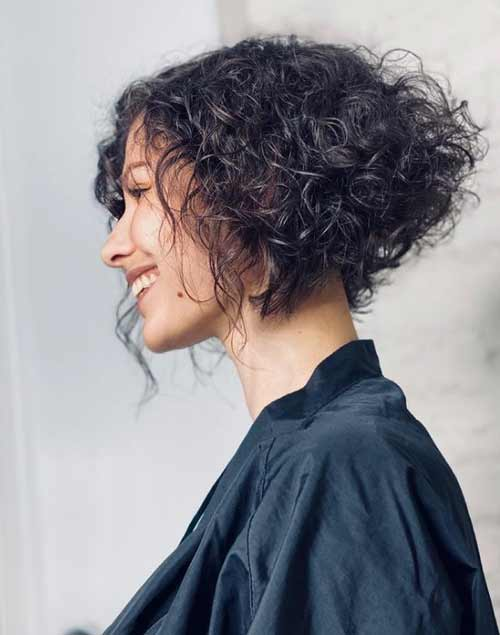 Haircuts for curly girls