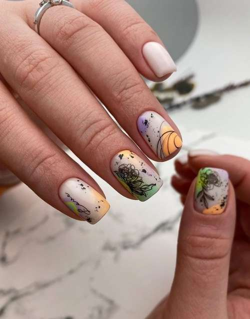 Short manicure