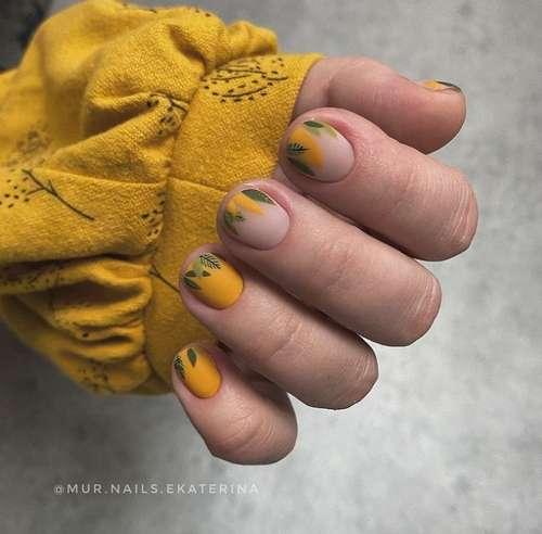 Short nails drawing trends