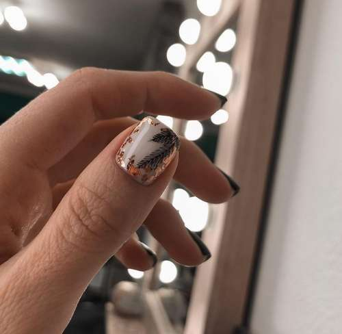 Foil slider on one nail