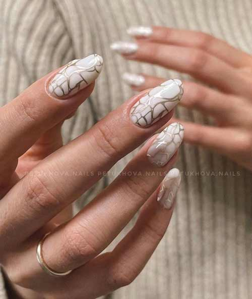 Stamping stains nails