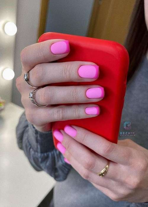 Matte French red
