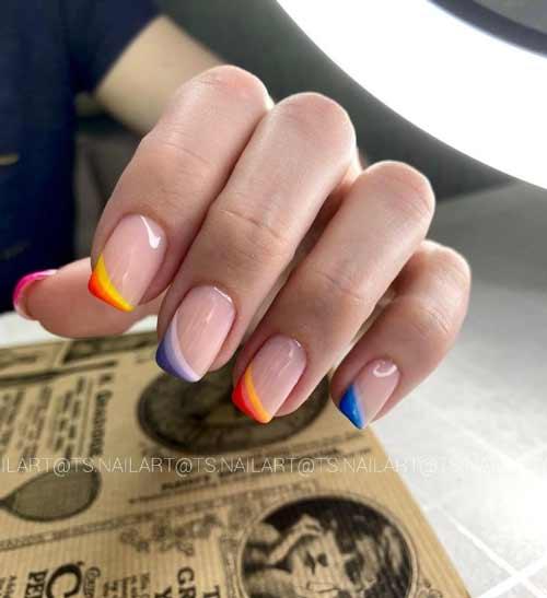 Rainbow French photo