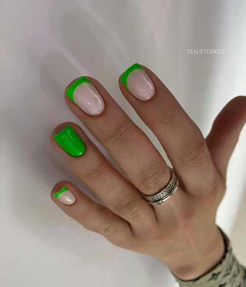 Translucent French green