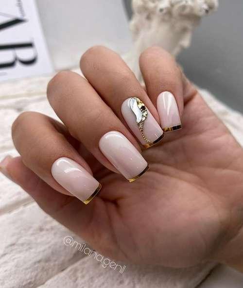 Decorated manicure