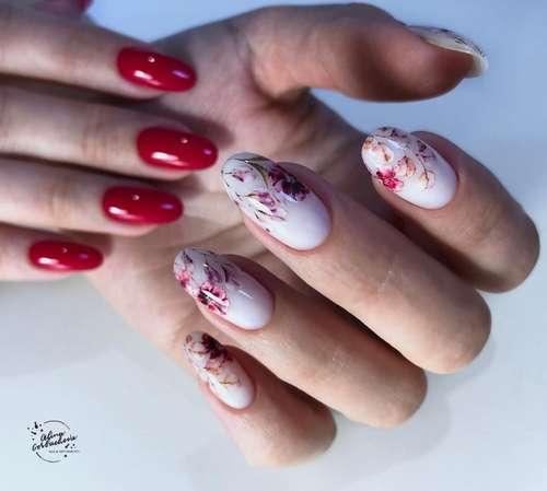 Translucent different hands