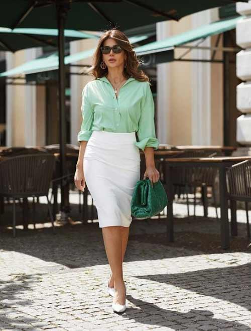 Skirt slit style business