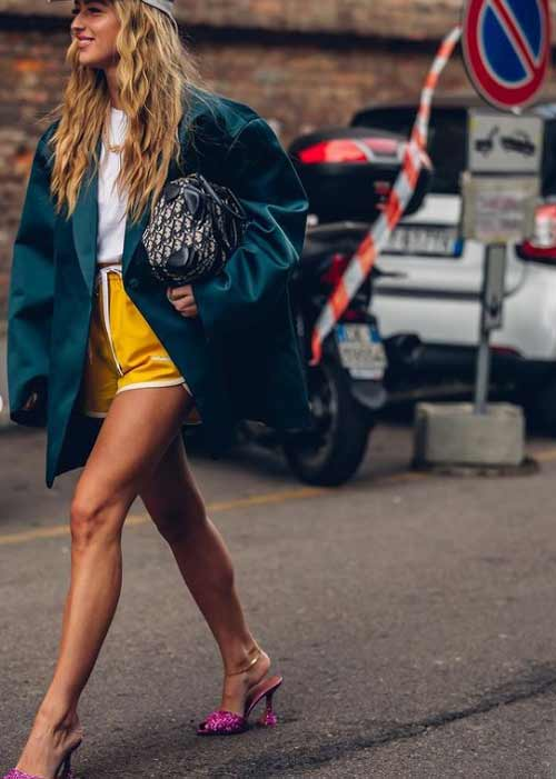Short shorts with what to wear