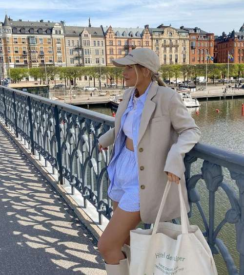 Shorts cotton fashion spring-summer