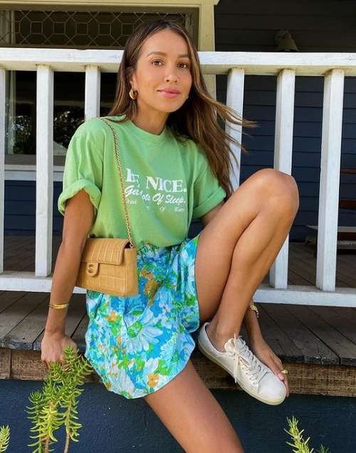 Summer images with shorts