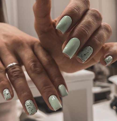 Quail gel polish manicure