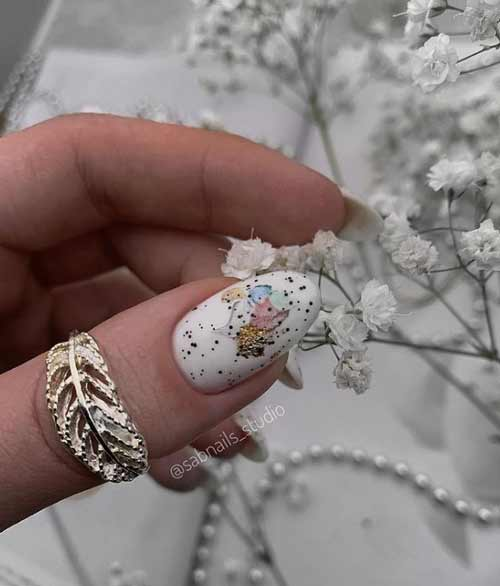 Quail Egg Manicure Ideas