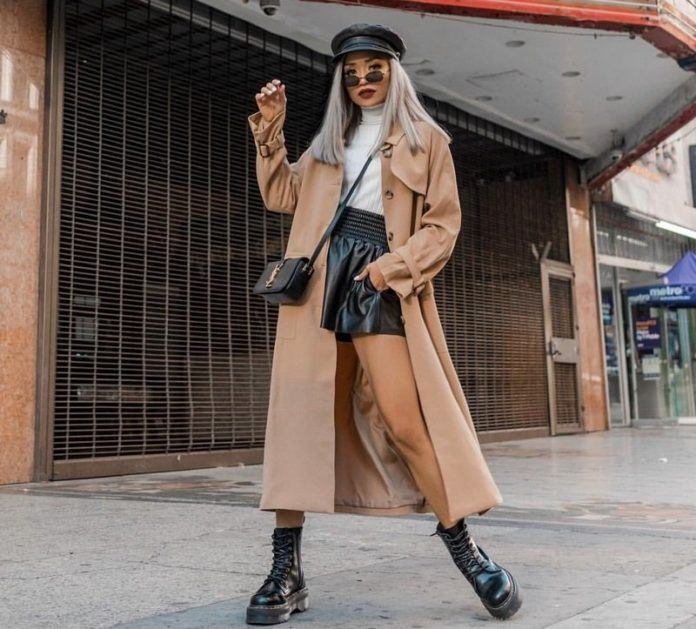Fashionable trench coats and raincoats 2021-2022 - current styles, models, photos