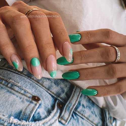 Bright new nail designs