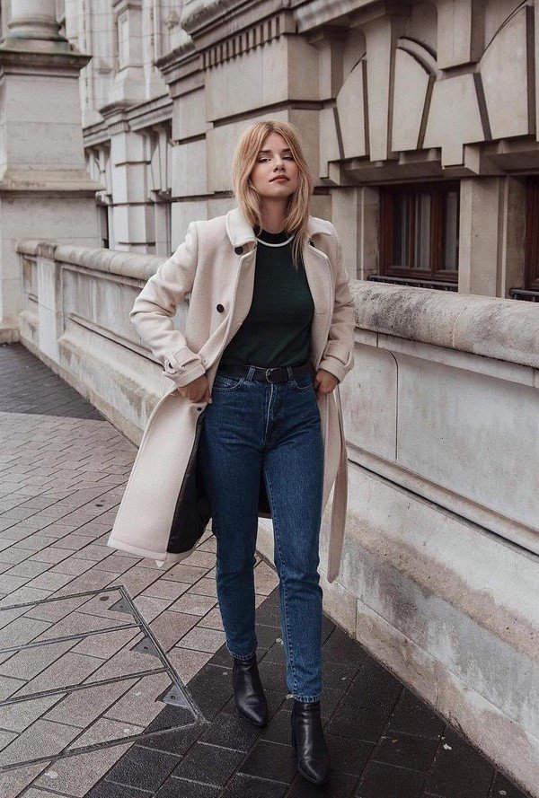 How to look expensive and stylish?  Images and clothes in the direction of minimalism