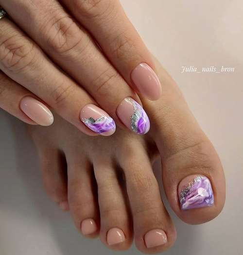 Manicure ideas by the sea