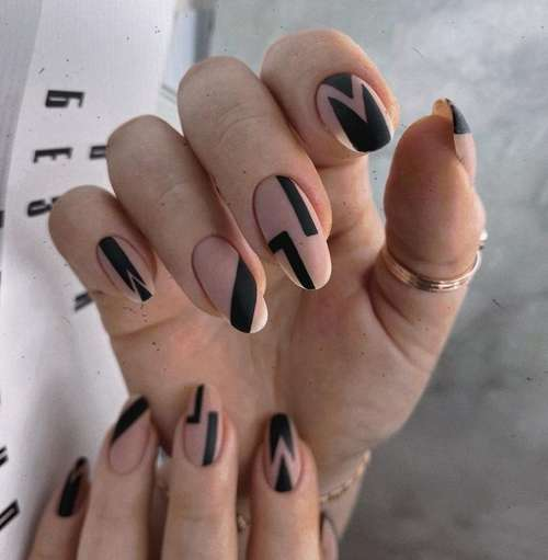 Beige manicure trends
