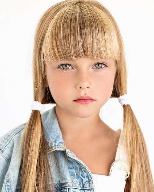 Bangs fashionable for girls