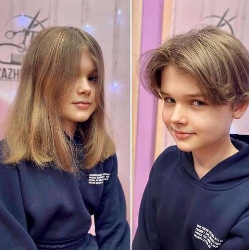Haircut 10 years old girl