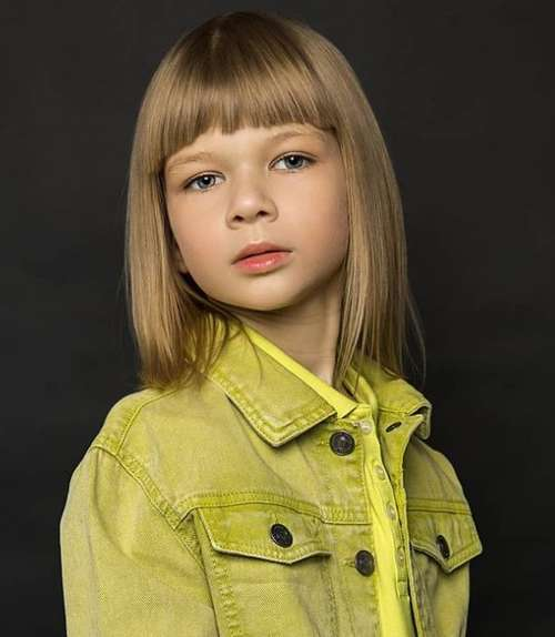 Haircut girl 10 years old