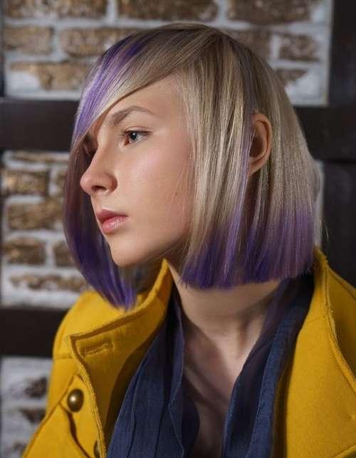 Haircut teenage girl