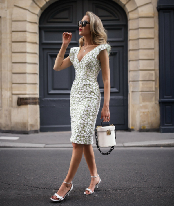 White dresses.  New style ideas, trends and novelties of white dresses